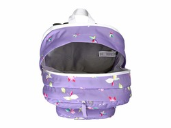 Jansport Purple Dawn Butterfly Kisses Big Student Backpack - Thumbnail