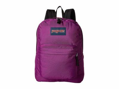 Jansport - Jansport Purple Plum Superbreak Backpack