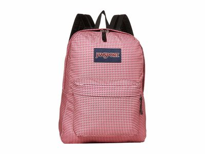 Jansport - Jansport Red Combo Superbreak Backpack