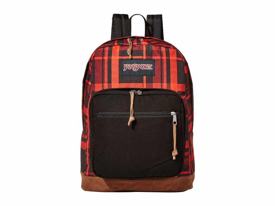 Jansport Red Diamond Plaid Right Pack Expressions Backpack