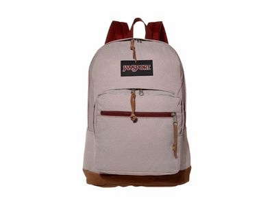 Jansport - Jansport Red Rust Crosshatch Dobby Right Pack Expressions Backpack