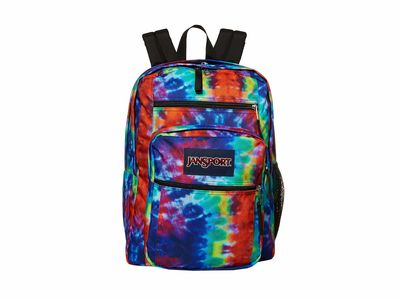 Jansport - Jansport Red/Multi Hippie Days Big Student Backpack