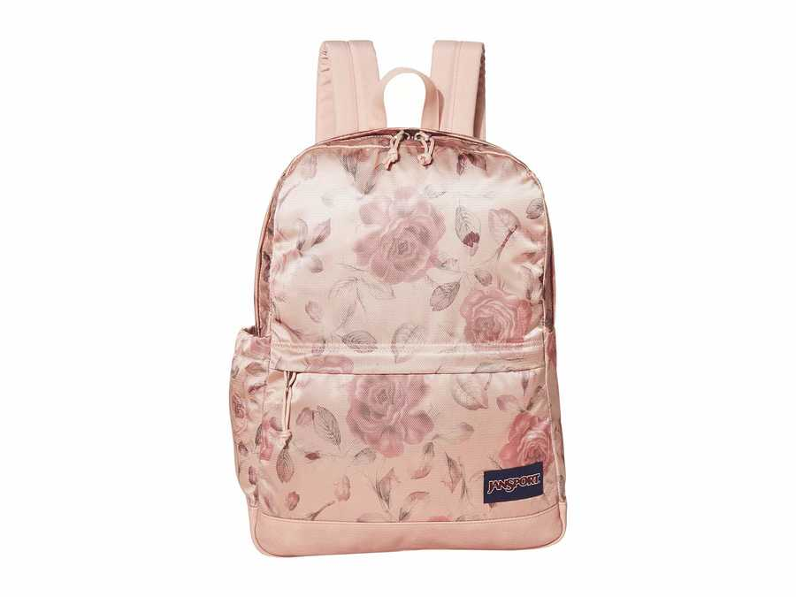 Jansport Rose Smoke Garden Premium Poly New Stakes Backpack