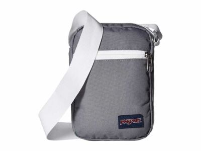 Jansport - JanSport Shady Grey/White Weekender Cross Body Bag