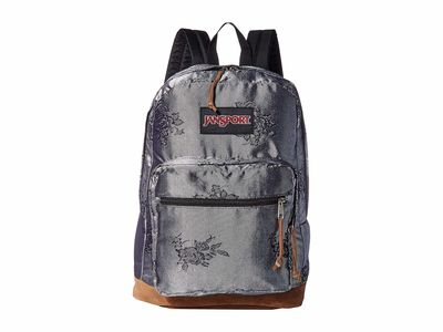 Jansport - Jansport Silver/Rose Jacquard Right Pack Backpack