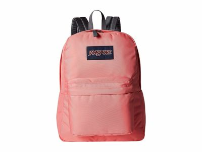 Jansport - Jansport Strawberry Pink Superbreak® Backpack