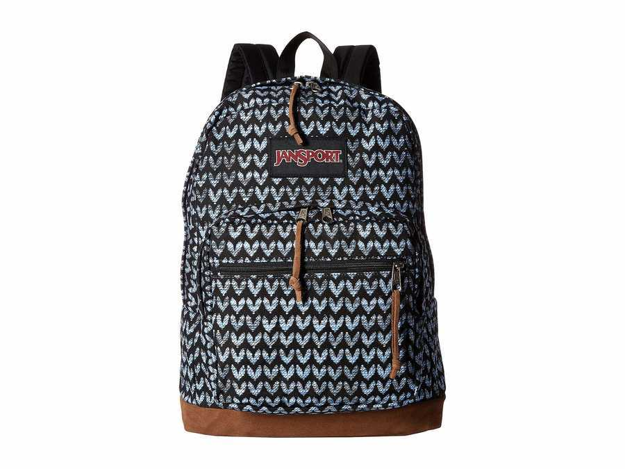 Jansport Turkish Ocean/Canvas Love Right Pack Backpack