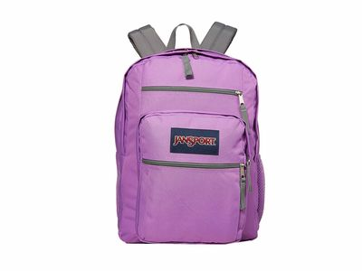 Jansport - Jansport Vivid Lilac Big Student Backpack