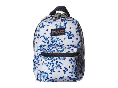 Jansport - Jansport White Field Floral Lil' Break Coin Card Case