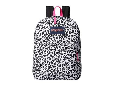 Jansport - Jansport White Leopard Superbreak® Backpack