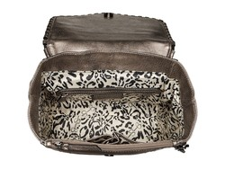 Jessica Simpson Pewter Selena Backpack - Thumbnail