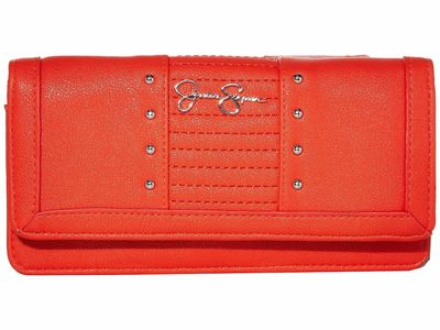 Jessica Simpson - Jessica Simpson Poppy Tilly Tripple Gusset Checkbook Wallet