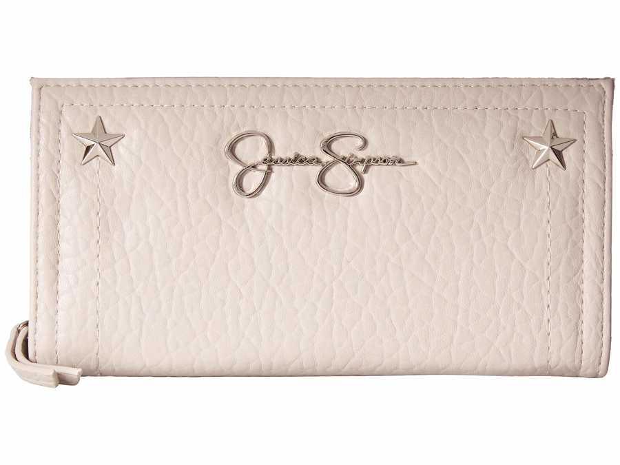 Jessica Simpson Quartz Georgie Single Zip Organizer Bi-Fold Wallet