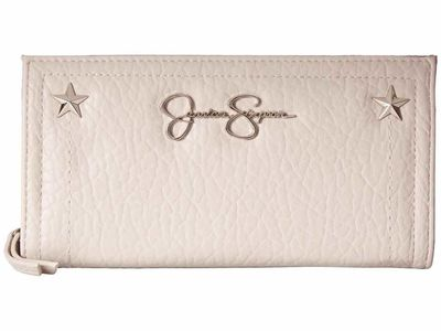 Jessica Simpson - Jessica Simpson Quartz Georgie Single Zip Organizer Bi-Fold Wallet