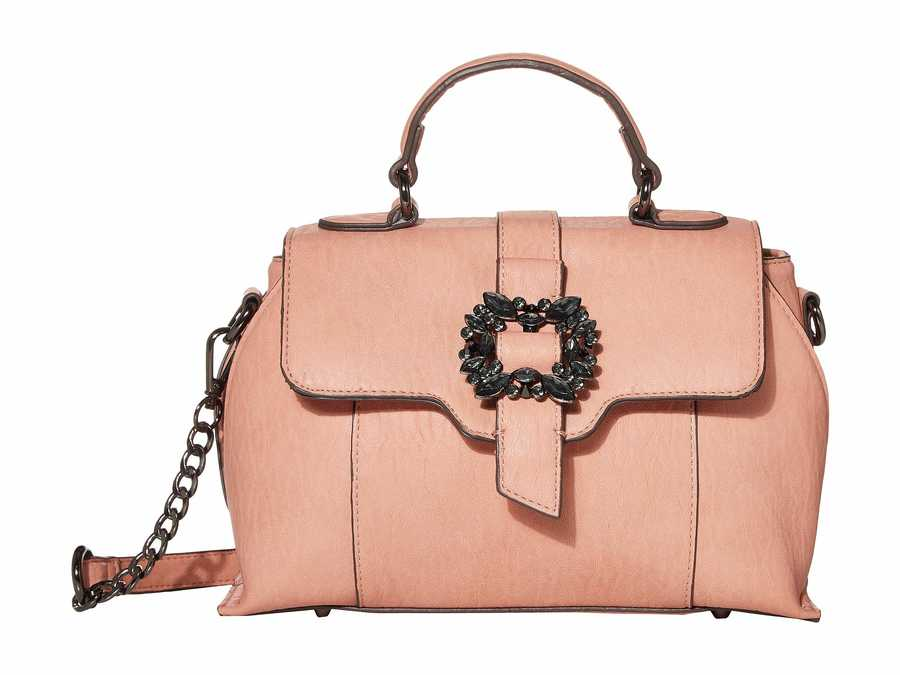Jessica Simpson Rose Cloud Aurora Flap Satchel Handbag