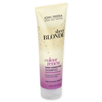 John Frieda - John Frieda Sheer Blonde Color Renew Tone Correcting Shampoo 8.45 oz