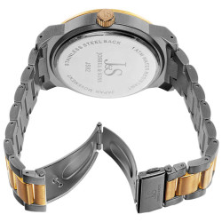Joshua Sons Bold Men's Quartz Large Arabic Numerals Bracelet Watch JS82TTG - Thumbnail