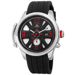 Joshua Sons Sporty Men's Swiss Quartz Multifunction Strap Watch JX101SSB - Thumbnail