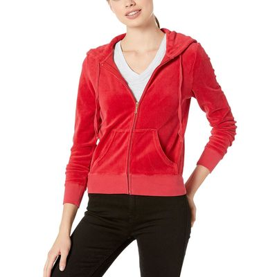 Juicy Couture - Juicy Couture Astor Robertson Velour Jacket