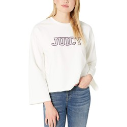 Juicy Couture Bleachedbone Juicy Sequin Pullover - Thumbnail