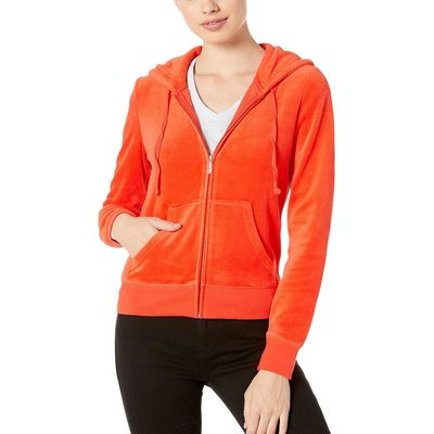 Juicy Couture - Juicy Couture City Rouge Robertson Velour Jacket