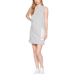 Juicy Couture Heather Cozy Juicy Logo Terry Tank Dress - Thumbnail