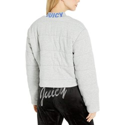 Juicy Couture Heather Cozy Juicy Quilted Terry Track Jacket - Thumbnail