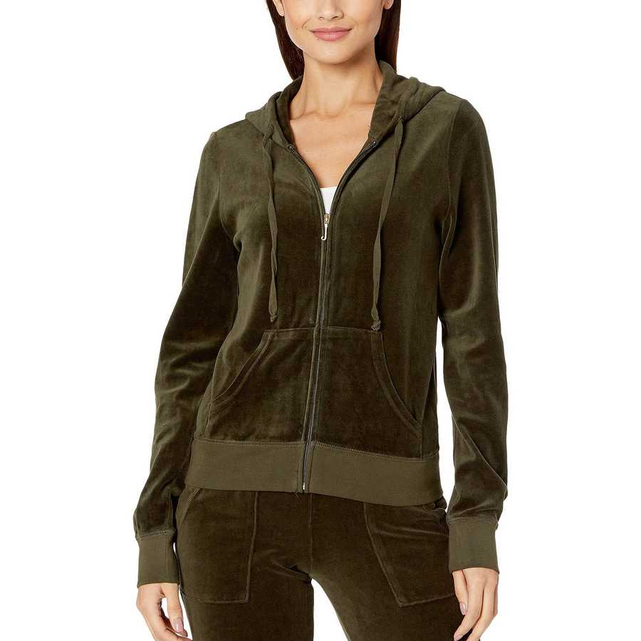 Juicy Couture Lost Labyrinth Robertson Velour Jacket