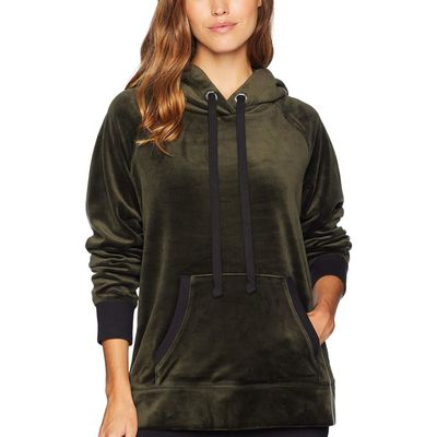 Juicy Couture - Juicy Couture Lost Labyrinth Track Luxe Velour Hooded Pullover
