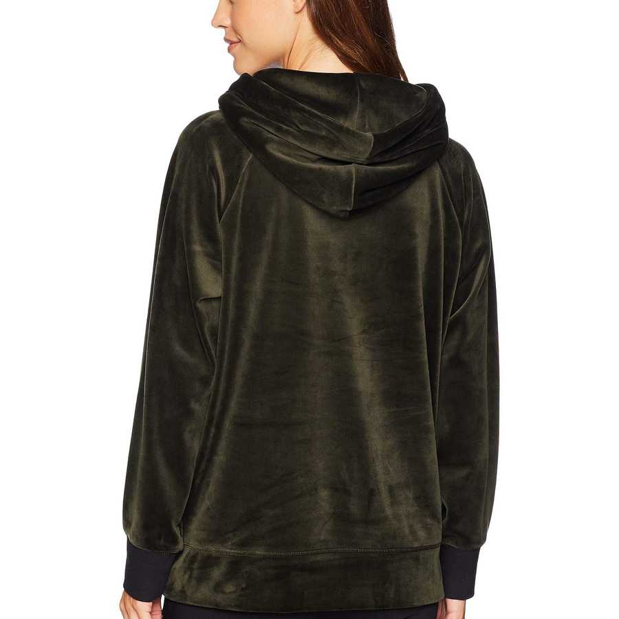Juicy Couture Lost Labyrinth Track Luxe Velour Hooded Pullover