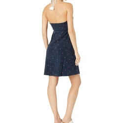 Juicy Couture Regal Anchor Anchor Embroidery Microterry Halter Dress - Thumbnail