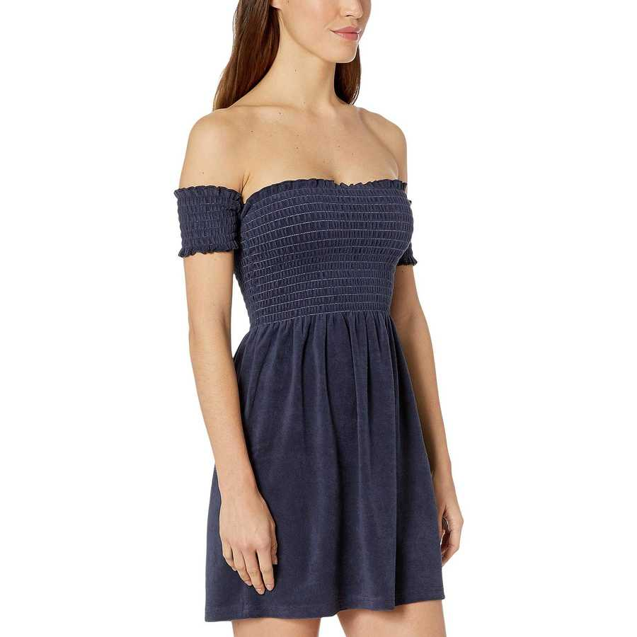 Juicy Couture Regal Microterry Smocked Dress