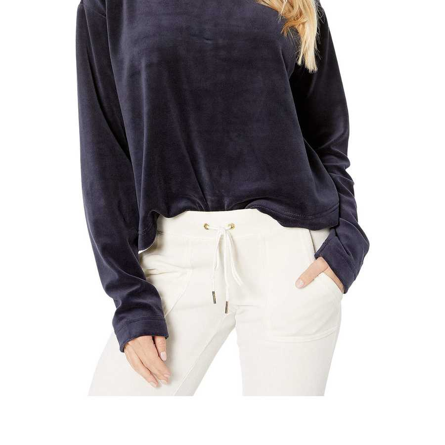 Juicy Couture Regal Velour Hooded Pullover