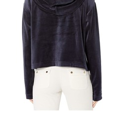 Juicy Couture Regal Velour Hooded Pullover - Thumbnail