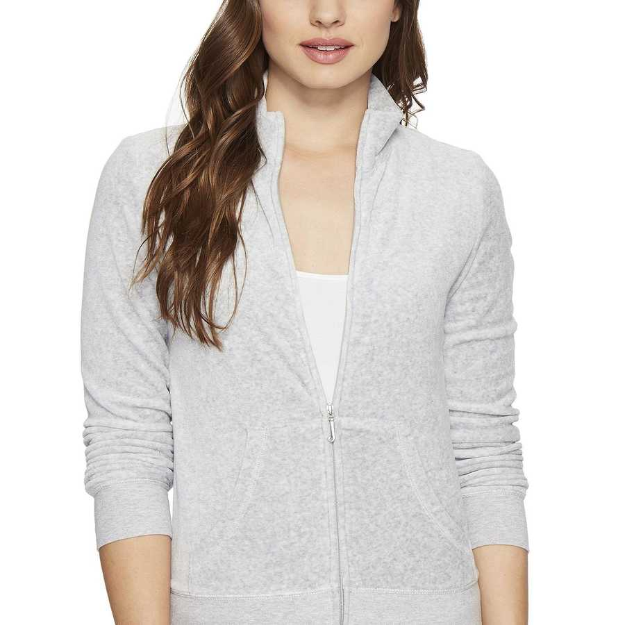 Juicy Couture Silver Lining Fairfax Velour Jacket