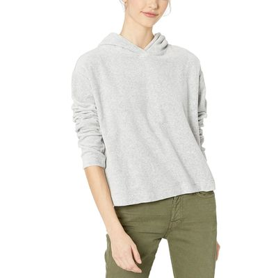 Juicy Couture - Juicy Couture Silver Lining Velour Hooded Pullover