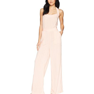 Juicy Couture - Juicy Couture Soft Pink Cindy Stripe Cindy Stripe Jumpsuit
