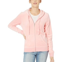 Juicy Couture Sorbet Pink Robertson Velour Jacket - Thumbnail