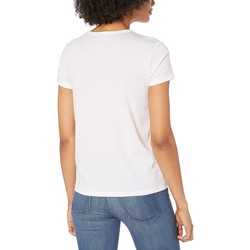 Juicy Couture White Juicy Shrunken Graphic Tee - Thumbnail