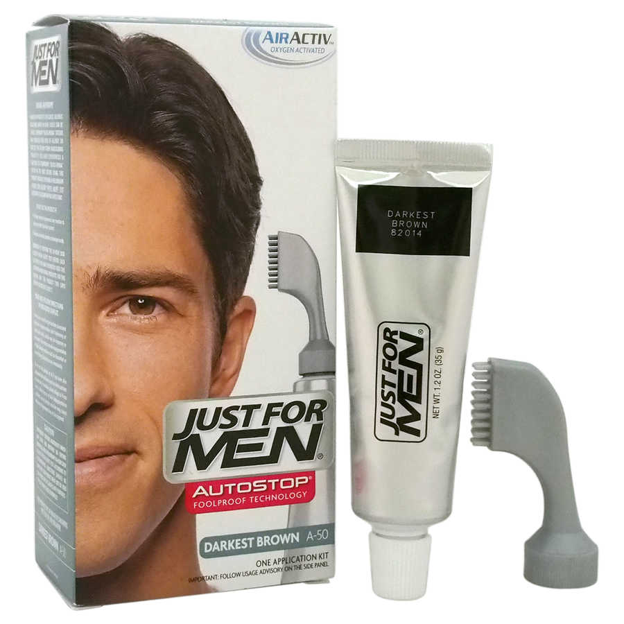 Just For Men Auto Stop Hair Color - Darkest Brown A-50 1Application