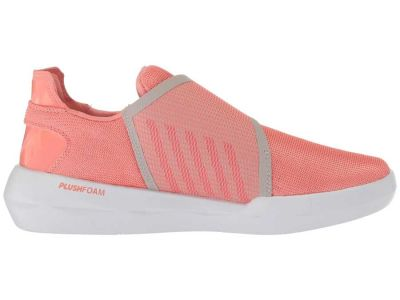 K-Swiss - K-Swiss Women's Burnt Coral/Silver Cloud/White Functional Strap Sneakers Athletic Shoes 9123669777692
