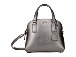 Kate Spade New York Anthracite Cameron Street Small Lottie Satchel Handbag - Thumbnail
