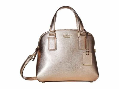 Kate Spade New York - Kate Spade New York Rose Gold Cameron Street Small Lottie Satchel Handbag