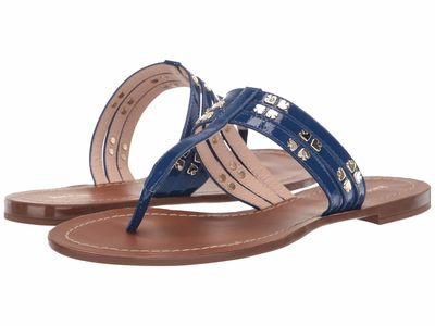 Kate Spade New York - Kate Spade New York Women Mystic Blue Carol Flip Flops