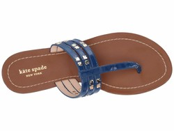 Kate Spade New York Women Mystic Blue Carol Flip Flops - Thumbnail