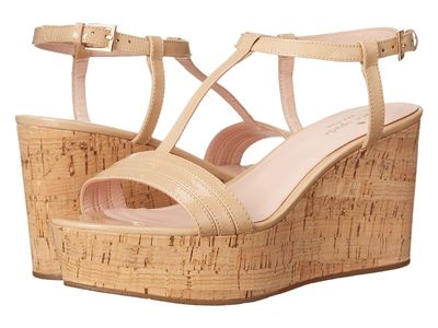 Kate Spade New York - Kate Spade New York Women Powder Patent Tallin Heeled Sandals