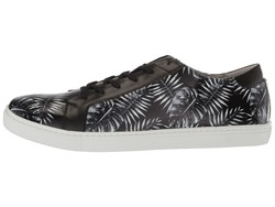 Kenneth Cole New York Men Black Kam Leaf Lifestyle Sneakers - Thumbnail