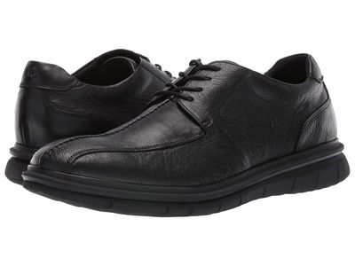 Kenneth Cole Reaction - Kenneth Cole Reaction Men Black Corey Flex Lace-Up Oxfords