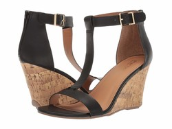 Kenneth Cole Reaction Women Black Ava Great Heeled Sandals - Thumbnail