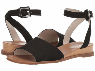 Kenneth Cole Reaction - Kenneth Cole Reaction Women Black Jolly Heeled Sandals